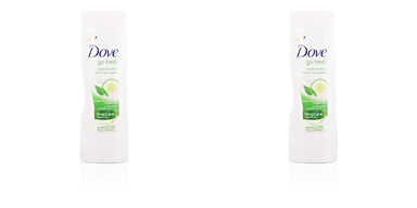 Dove GO FRESH pepino & té green loción corporal PN 400 ml