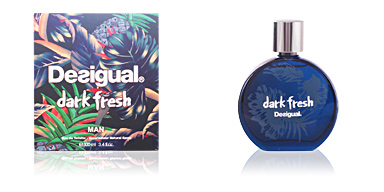 DARK FRESH MAN eau de toilette spray 100 ml Desigual