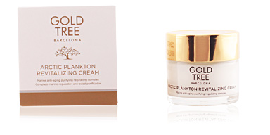 Antifatigue facial treatment ARCTIC PLANKTON revitalizing cream Gold Tree Barcelona