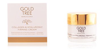 Anti aging cream & anti wrinkle treatment COLLAGEN & HYALURONIC firming cream Gold Tree Barcelona