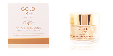 Anti aging cream & anti wrinkle treatment GOLD ILLUMINATING anti-aging cream Gold Tree Barcelona
