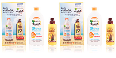 Coffret Soin Solaire SENSITIVE ADVANCED LECHE SPF50+ COFFRET Delial