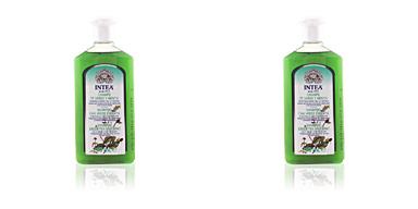 Shampooing purifiant TÉ VERDE & MENTA champú cabello graso Camomila Intea