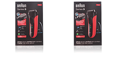 Braun SERIES 3-3050cc shaver #red