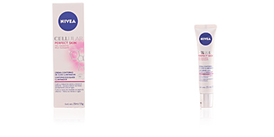 Skin lightening cream & brightener CELLULAR PERFECT SKIN eye iluminator cream Nivea
