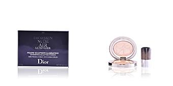 Highlighter makeup DIORSKIN NUDE AIR LUMINIZER shimmering sculpting powder Dior