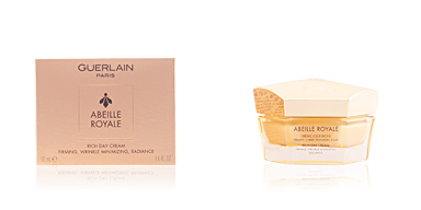 Anti aging cream & anti wrinkle treatment ABEILLE ROYALE crème riche jour Guerlain
