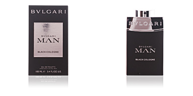 BVLGARI MAN BLACK cologne eau de toilette spray 100 ml Bvlgari