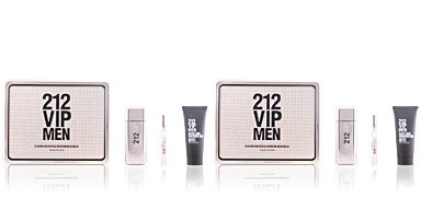 Carolina Herrera 212 VIP MEN LOTE 3 pz