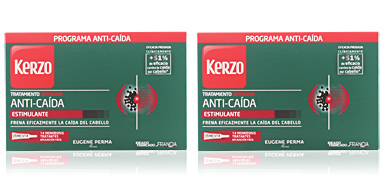 Hair vitamins & supplements TRATAMIENTO INTENSIVO ANTI-CAÍDA estimulante Kerzo