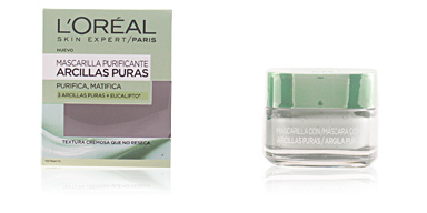 L'Oréal MASCARILLA ARCILLA verde purifica y matifica 50 ml