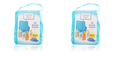 Johnson's BABY MOCHILA blue SET 5 pz