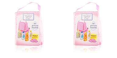BABY MOCHILA ROSA SET Johnson's