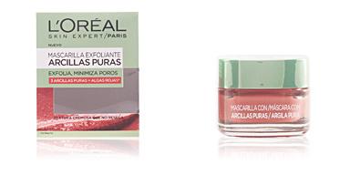 Maschera viso ARCILLAS PURAS algas rojas mascarilla exfoliante L'Oréal París