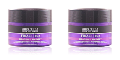 Shiny hair mask FRIZZ-EASE mascarilla fortalecedora intensiva John Frieda