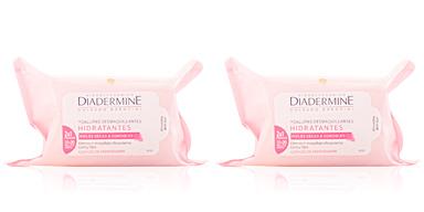 Démaquillant TOALLITAS DESMAQUILLANTES pieles secas y sensibles Diadermine