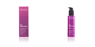Reconstrução capilar BE FABULOUS hair recovery ends repair serum Revlon