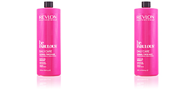 BE FABULOUS daily care normal cream shampoo Revlon