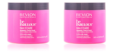 Mascarillas BE FABULOUS daily care normal cream mask Revlon