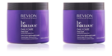 Hair mask BE FABULOUS daily care fine hair cream mask Revlon