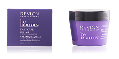 Revlon BE FABULOUS daily care fine hair cream mask 200 ml