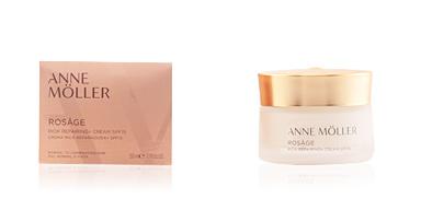 Anti-rugas e anti envelhecimento ROSÂGE rich repairing cream SPF15 Anne Möller