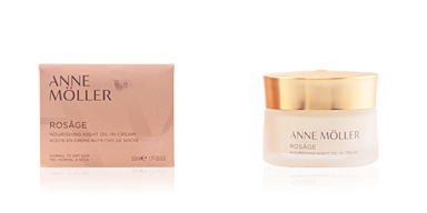 Anti aging cream & anti wrinkle treatment ROSÂGE nourishing night oil-in-cream Anne Möller