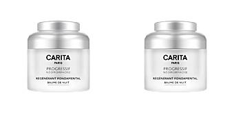 Soin du visage hydratant PROGRESSIF NÉOMORPHOSE régénérant fondamental baume de nuit Carita