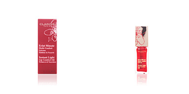 Clarins ECLAT MINUTE huile confort lèvres #03-red berry 7 ml
