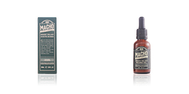 The Macho Beard Company GREEN VELVET beard oil 30 ml