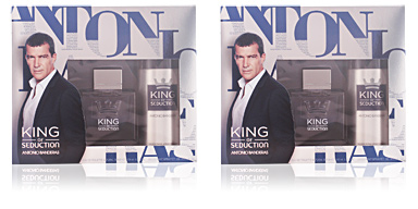 Antonio Banderas KING OF SEDUCTION SET 2 pz
