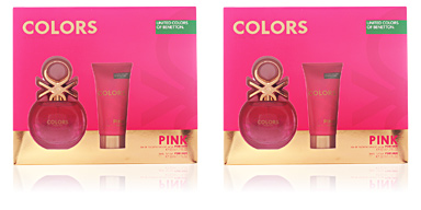 Benetton COLORS PINK SET 2 pz