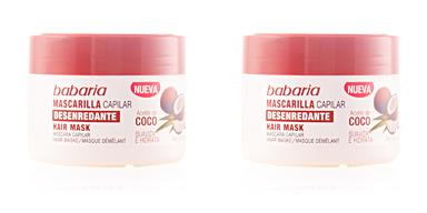 ACEITE DE COCO maseczka capilar desenredante 250 ml Babaria