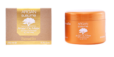 Mascarilla brillo ARGAN SUBLIME mask Farmavita