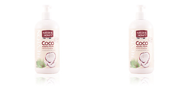 COCO ADDICTION loción corporal dosificador 400 ml Natural Honey