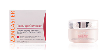 TOTAL AGE CORRECTION complete anti-aging light cream SPF15 Lancaster