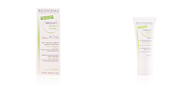 Acne Treatment Cream & blackhead removal SEBIUM GLOBAL COVER soin intense purifiant Bioderma