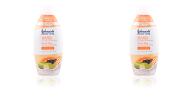 Johnson's VITA-RICH EFECTO SEDA PAPAYA loción corporal 400 ml