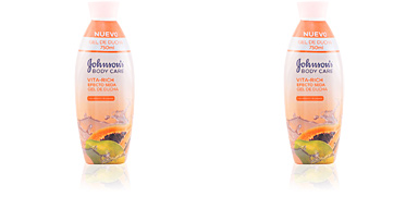 VITA-RICH EFECTO SEDA PAPAYA shower gel 750 ml Johnson's
