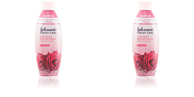 Shower gel VITA-RICH RECONFORTANTE AGUA DE ROSAS gel de ducha Johnson's