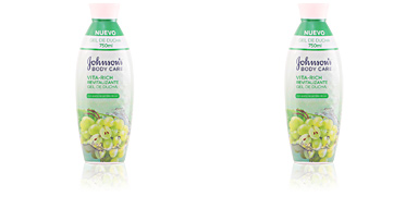 VITA-RICH REVITALIZANTE UVAS shower gel 750 ml Johnson's