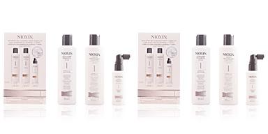 Nioxin HAIR SYSTEM 1 LOTE 3 pz