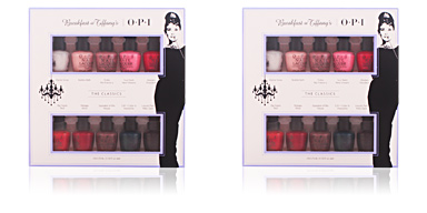Opi BREAKFAST AT TIFFANY'S LOTE 10 pz