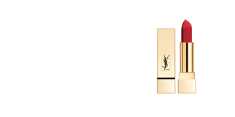 Yves Saint Laurent ROUGE PUR COUTURE the mats #201-orange imagine 3,8 gr