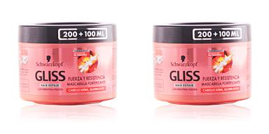 Schwarzkopf GLISS FUERZA & RESISTENCIA mascarilla 300 ml