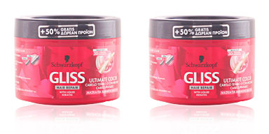 Schwarzkopf GLISS ULTIMATE COLOR mascarilla 300 ml