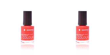 Korres MYRRH & OLIGOELEMENTS nail colour #45-coral 10 ml