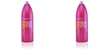 Shampoo for shiny hair PROYOU REPAIR shampoo for damaged hair Revlon