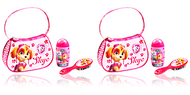 Gel bain PATRULLA CANINA ROSA COFFRET Cartoon