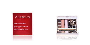 Maquiagem sobrancelha KIT SOURCILS PRO perfect eyes & brows palette Clarins